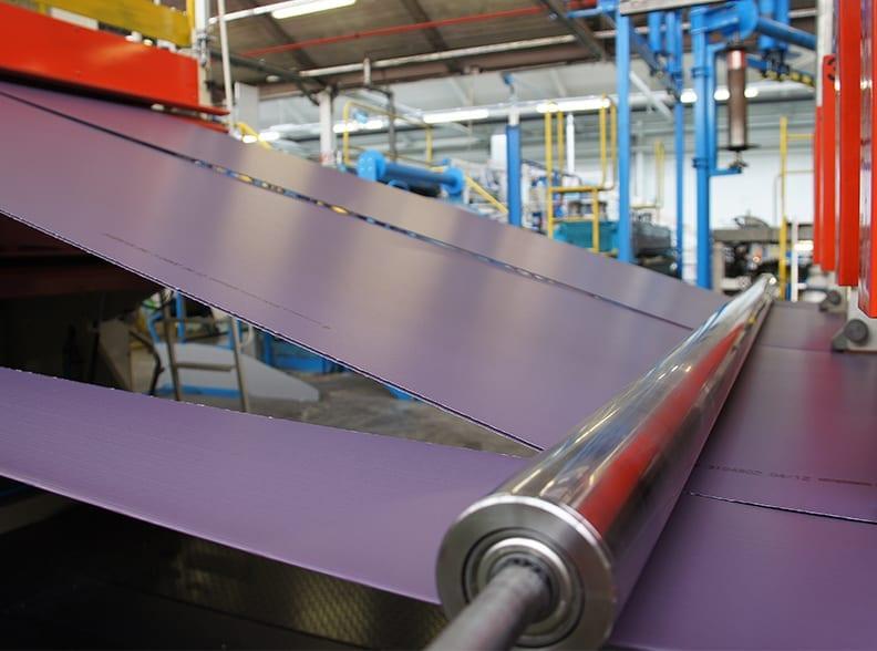 plastic sheet material