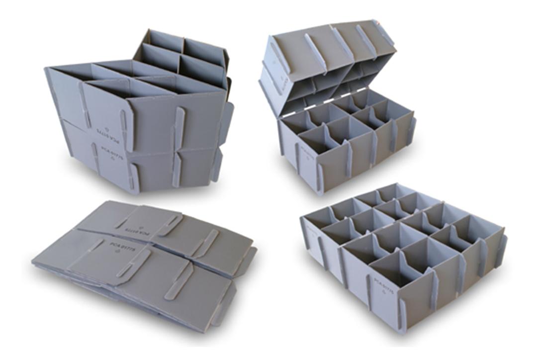 Corrugated Polypropylene divider