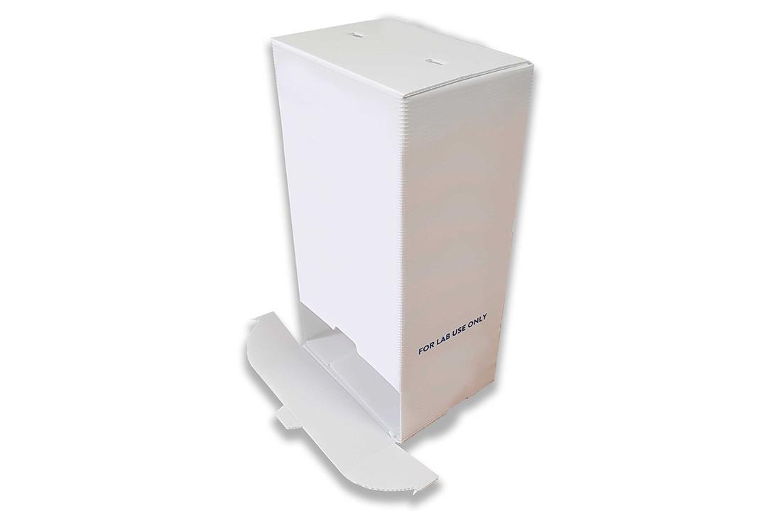 Polypropylene boxe for pharmaceutical industry