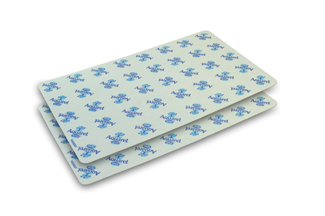 With and blue layerpad