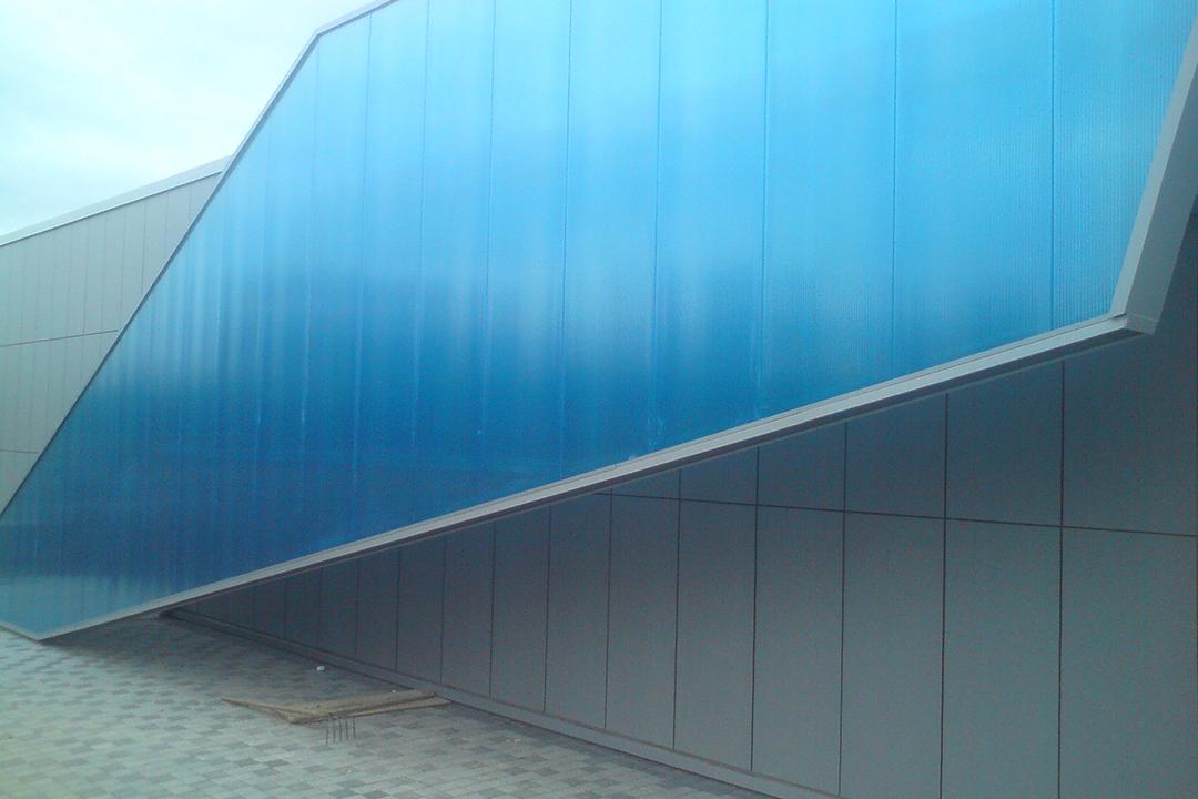 AkyVer Multi-Wall Polycarbonate Cladding